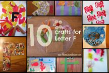 ABC's of homeschooling  / We use a letter of the week theme in our family homeschool - these are lessons and fun ideas that go along with it! Lots of free printables here too-