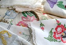 Old Linens & Lace / by Eileen Smith Farleigh