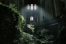 [  abandoned places  ]