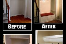 Coat Closet | Laundry | Mudroom / Remodeling the Coat Room | Laundry | Mudroom / by Jennifer Leal