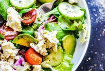 salads worth eatin' / by Torina Scott-Steelsmith