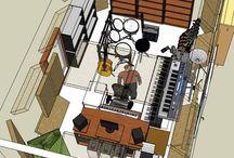 Studio-oppbygging