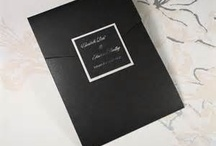 Black Wedding Invitations / by InvitesWeddings
