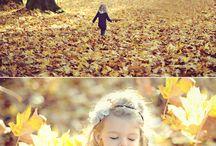 осенние фото для девочек
