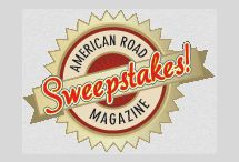 Sweepstakes at American Road - Enter to Win! / http://americanroadmagazine.com/sweepstakes.html Do you like road trips? Do you like to win things? Then, enter to win the American Road Trip Sweepstakes!