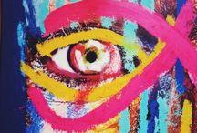 My Work : Art, Portrait, Detail