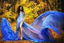 FASHION - Flowing Fabric / Fashion , Underwater , The Feeling of Flying
