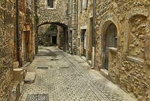 Средневековые деревни Франции