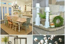 Farmhouse Style / Farmhouse style decorating -- farmhouse DIY -- barnwood -- shiplap -- farmhouse home -- home decor -- fixer upper style -- home improvement -- interior decorating -- home trends -- white home decor -- kitchens -- bathrooms -- bedrooms -- farmhouse living spaces