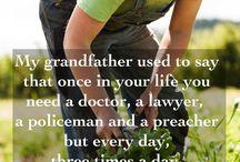 Gardening Farming Quotes / by Organic Farming Report.Com