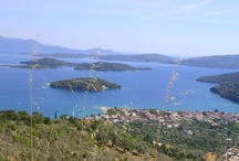 Lefkas, Greece / Photos of this lush mountainous Greek island! #Greece #Lefkas