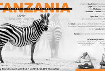 Africa Yoga Retreat 2016 / 11 days of adventure, yoga and safari with Ari Halbert and Amanda Dee in Tanzania!