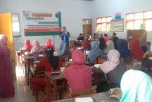 Di MI Dan MTs Hasan Alwi, BNN Kab.Kediri Ingatkan Bahaya Narkoba