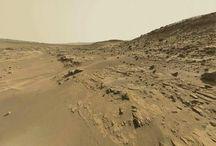 Des fossiles marins sur la planète Mars