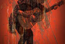 Ilustrações do Trio Ray Titto e Os Calabares / Com muita poesia e influências de estilos tradicionais de toda a América, Ray Titto, cantor e compositor, junto com Os Calabares, traz em suas canções uma mistura de música rural, latina e urbana.