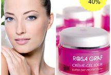 Rosa Graf / Produsele ROSA GRAF au fost elaborate de pionierul in cosmetica, doamna Rosa Graf, incepand cu 1926.  La acel moment, doamna Rosa Graf conducea prima scola de cosmetica din Germania si producea cosmetice dupa o formula proprie pentru cererile esteticienelor.