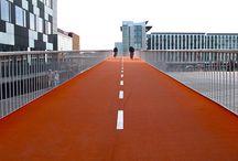 Infraestructura para ciclistas / Mobiliario urbano, ciclovías, guarderías, etc.