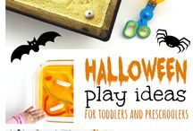 Halloween play and craft ideas
