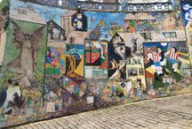 Art work wall / Beautifully painted cultural wall in Scarborough