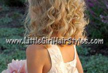 girls curly hair