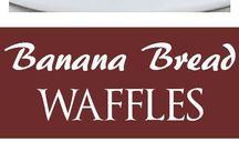 Banana waffles