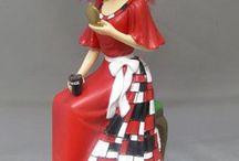 the beautiful Coca Cola Dolls