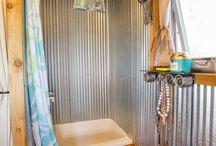 Tiny House Bathroom (Shower Toilet etc)
