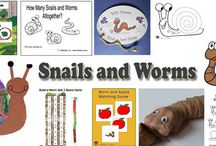 snails and worms