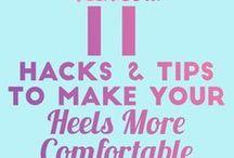 Tips on wearing high heels