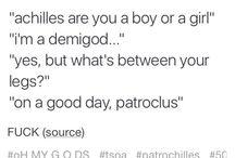 ~ achilles and patroclus ~
