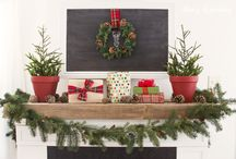 Christmas - Mantels and Shelves