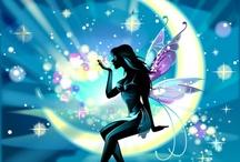 mini garden fairy