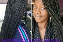 La'Dorah's hair Galaxy / hairstyles