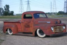 ford f1 truck / by Shannon Parson