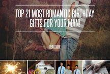 Boyfriend/Husband/Special Someone gift ideas