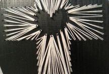 Arte con puntillas