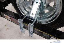 Trailer Gear - Spare Tire Accs