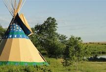 tipi camping in eastern Iowa / by Maria Koschmeder