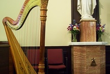 Music for Church Weddings / Wedding harpist providing elegant ceremony music in churches and houses of worship.  http://www.theclassicharpist.com / by The Classic Harpist