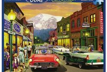 Cars Jigsaw Puzzles / Enjoy a large selection of automobile jigsaw puzzles including classic cars, muscle cars, convertible cars , vintage cars and trucks.  We have a variety of car puzzles designed by Dan Hatala, Bruce Kaiser, Hiroaki Shioya, Linda Berman and Kevin Walsh