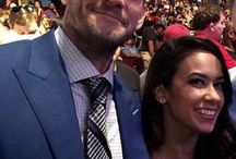 Aj Lee and Cm Punk Couple