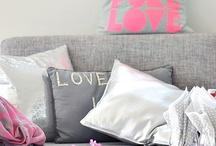 szary z różowym /grey ,pink