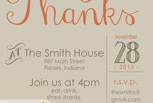 Eventos: Día de Acción de Gracias / Thanksgiving Day / Cómo preparar un Día de Acción de Gracias especial:  - Deco - Diy - Ideas - Juegos - Música