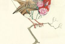 Animals / Interesting animal illustrations