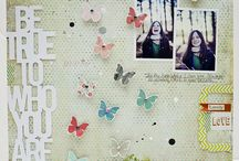 2013 :: A Year of Scrapbooking Tutorials / Guest Tutorials for scrapbooking and papercrafting featured in 2013 at www.shimelle.com. / by Shimelle Laine