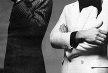 Helmut Berger Modeling / Austrian actor Helmut Berger modeling