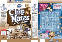 Cereal Boxes / A short brief at sketching