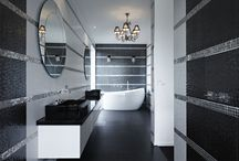 Luxury Bathrooms / Luxurious bathrooms, beautiful baths, stunning tiles, gorgeous bathrooms of all styles!