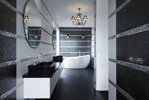 Luxury Bathrooms / Luxurious bathrooms, beautiful baths, stunning tiles, gorgeous bathrooms of all styles!