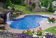 Luxury Inground Swimming Pools / The different types of inground pools vary in price.An inground swimming pool makes your backyard